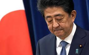 Photo of Japanese PM steps down as his health worsens